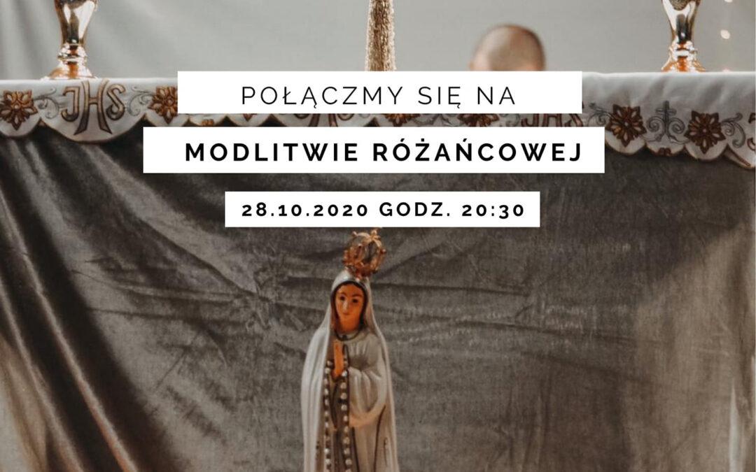 Modlitwa różańcowa live na Instagramie