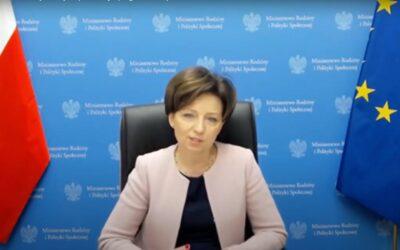 Wywiad z Minister Marleną Maląg