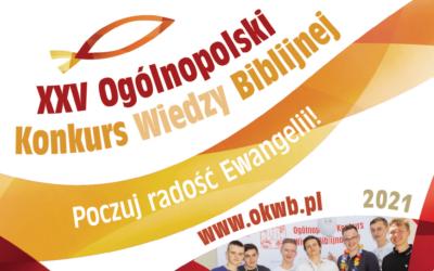Ruszyła 25. edycja Ogólnopolskiego Konkursu Wiedzy Biblijnej