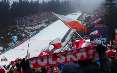 Gorąca atmosfera w Zakopanem! Polacy na 2 miejscu!