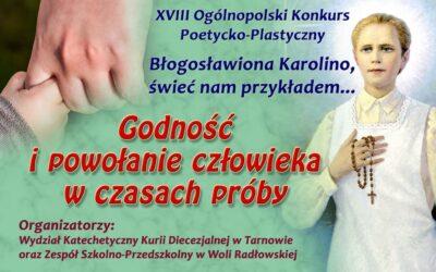 XVIII Ogólnopolski Konkurs Poetycko-Plastyczny