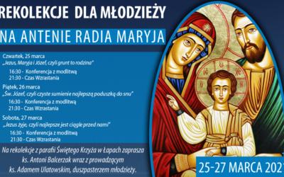 Rekolekcje dla młodzieży na antenie Radia Maryja