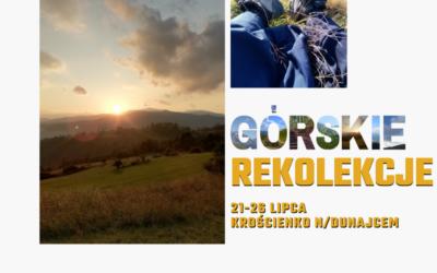 Górskie rekolekcje – czas blisko Pana Boga