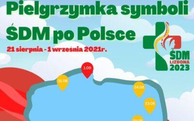 Symbole Światowych Dni Młodzieży znów w Polsce. Sprawdź gdzie i kiedy