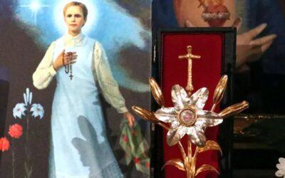 Relikwie bł. Karoliny Kózkówny w Narodowym Sanktuarium św. Józefa
